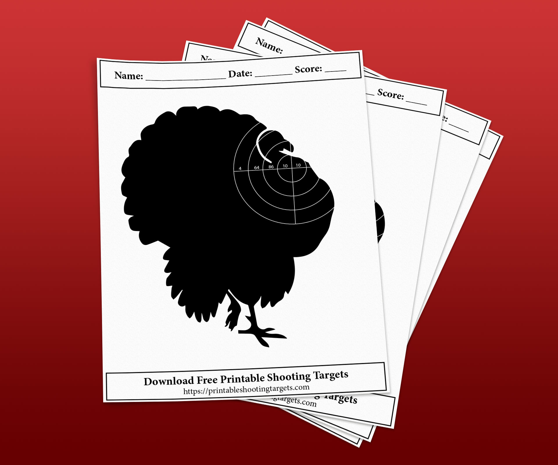 Turkey-Printable-Shooting-Targets